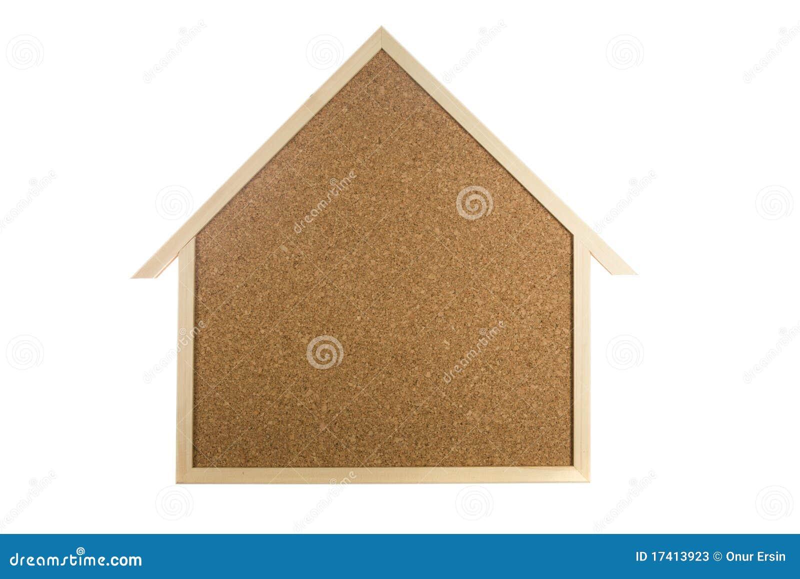 Home interior cork bulletin board stock photos image for Home bulletin