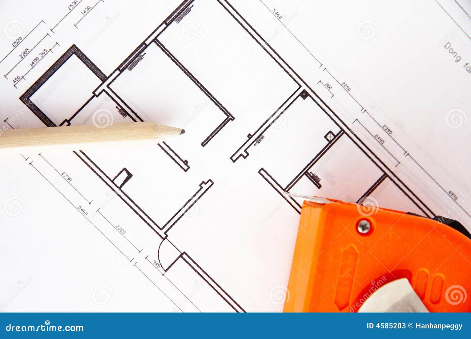 Home interior decorating plan