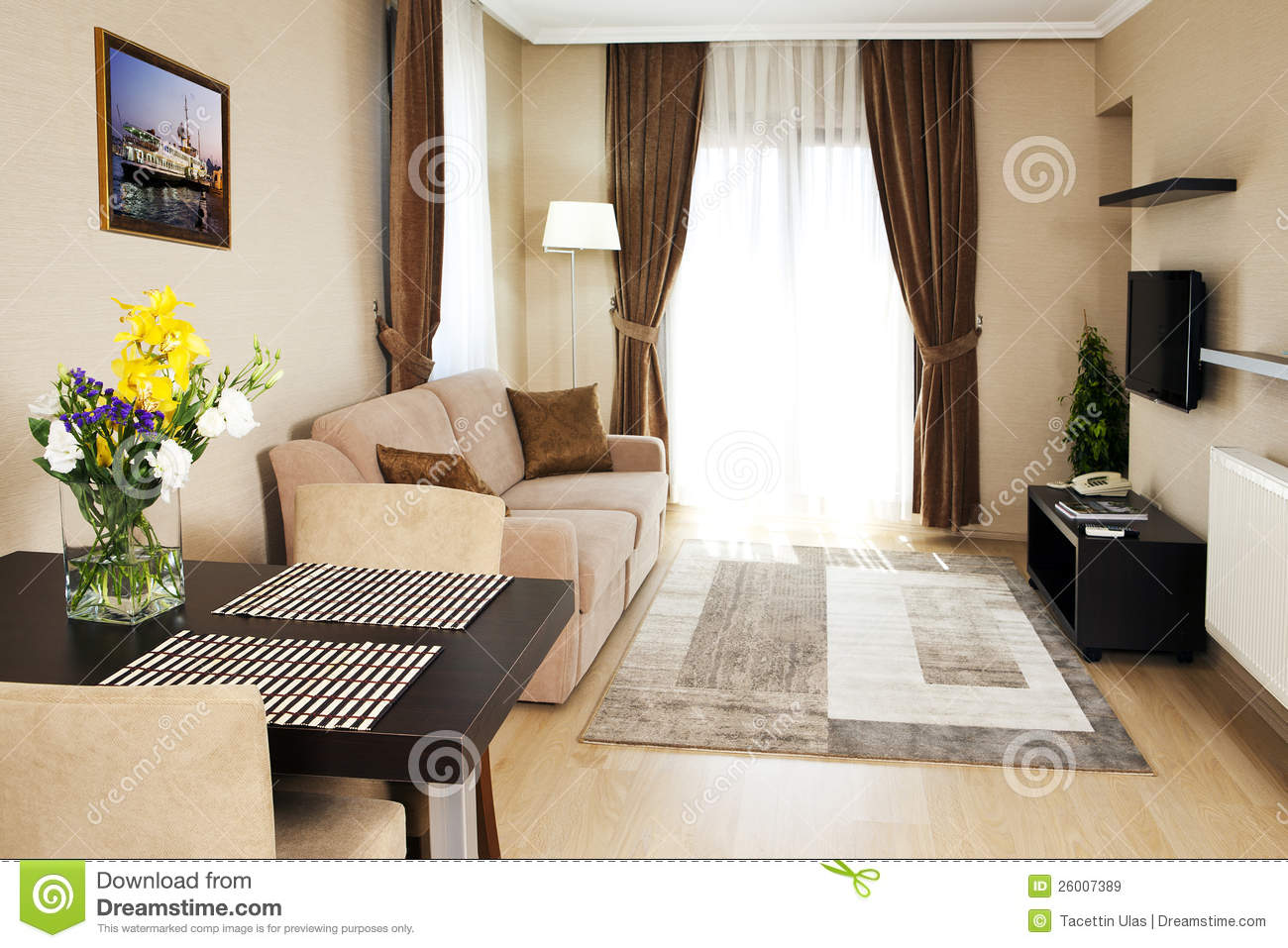 Home Interior Design Royalty Free Stock Images Image
