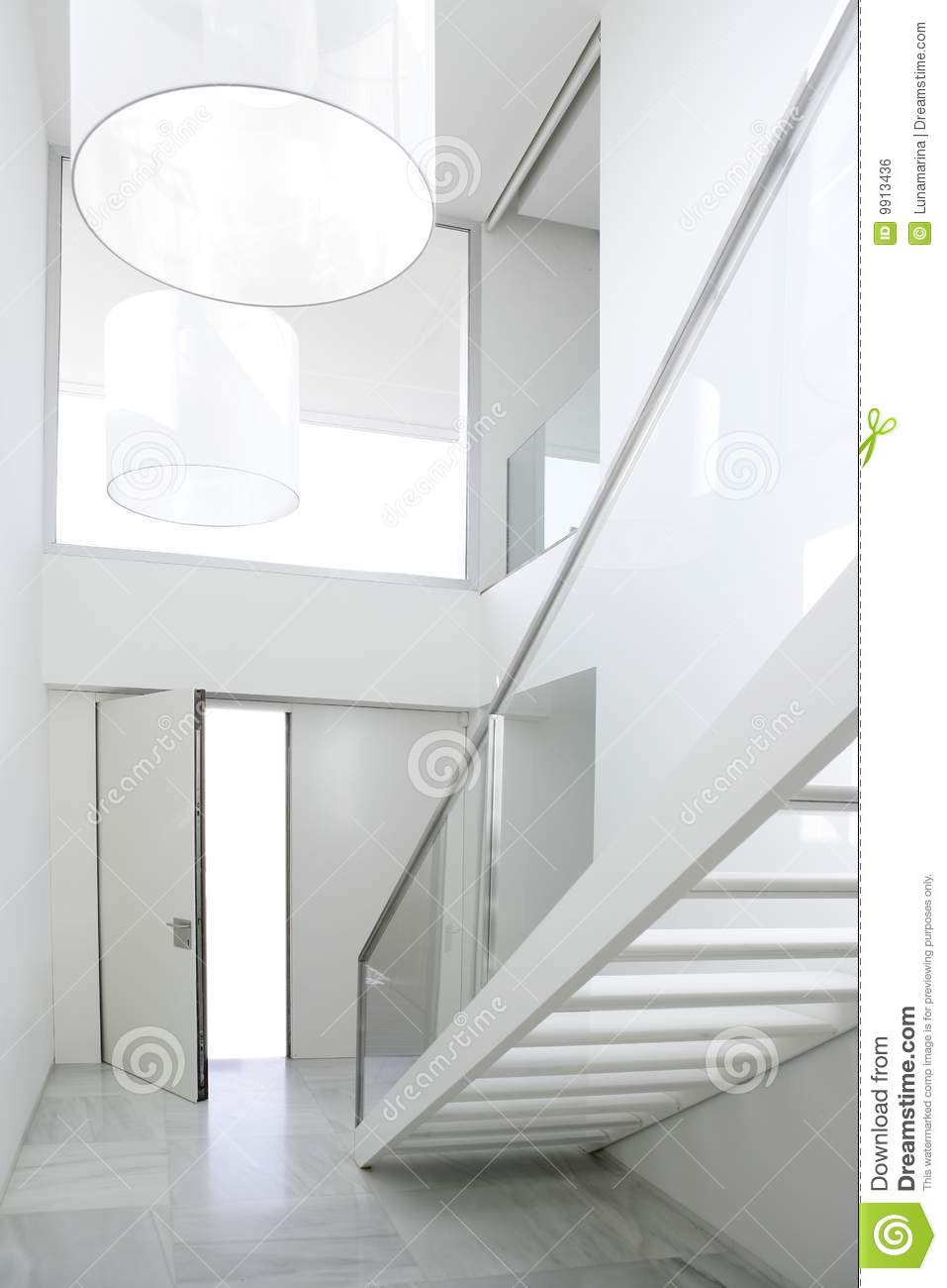 Home interior stair white architecture lobby