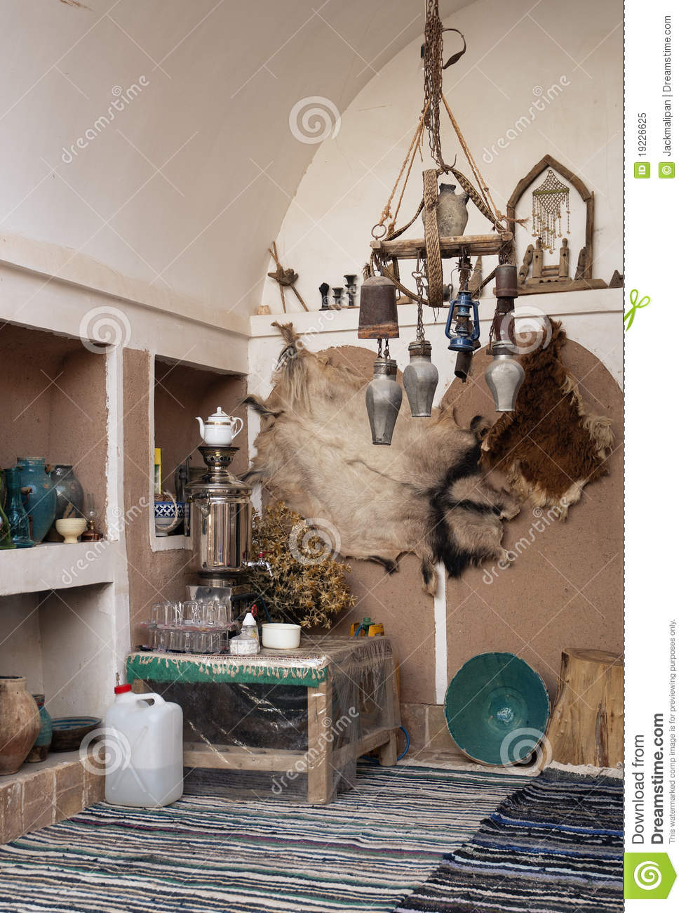 Home interior traditional decoration in yazd iran stock image image 19226625 for Photo decoration