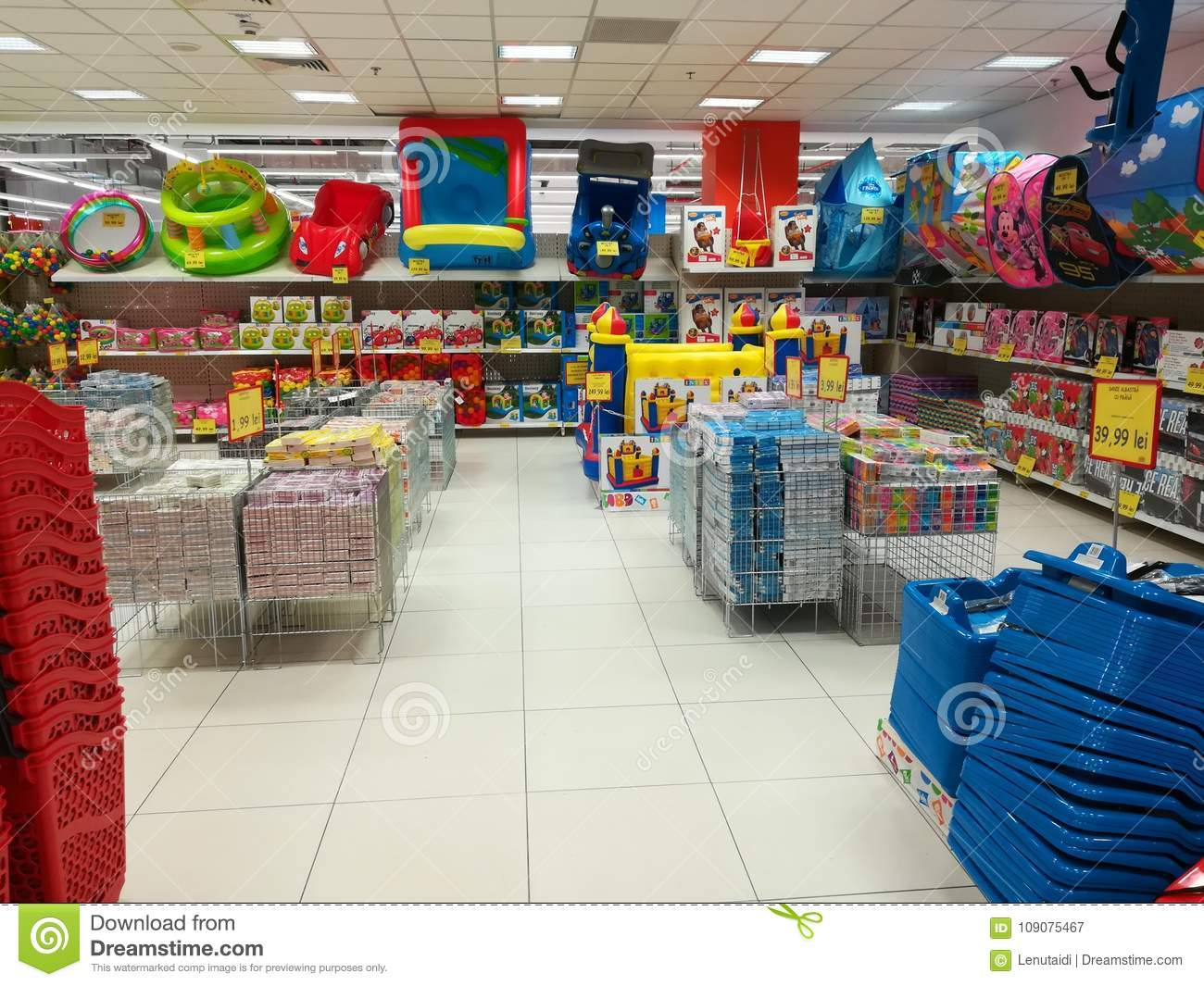 94a0a9112 Home Items And Toys At Jumbo Store Editorial Photography - Image of ...