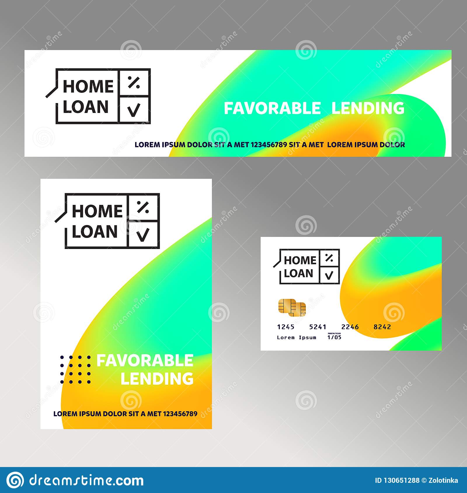 Home Loan Exclusive Offer Template Financial Sign Logo Badge