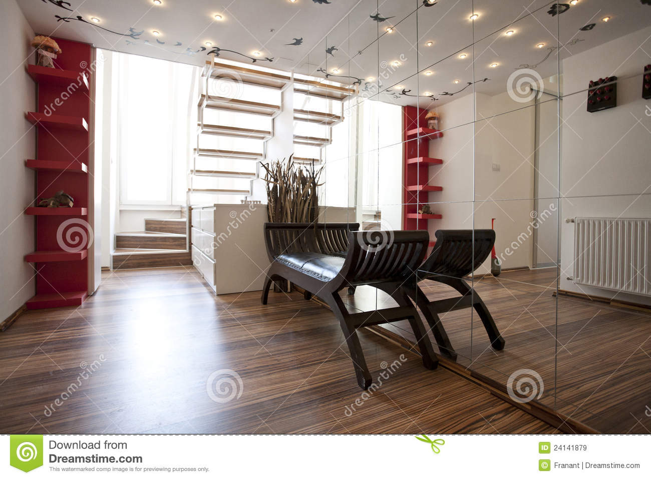 Home lobby interior design royalty free stock images for Interior home