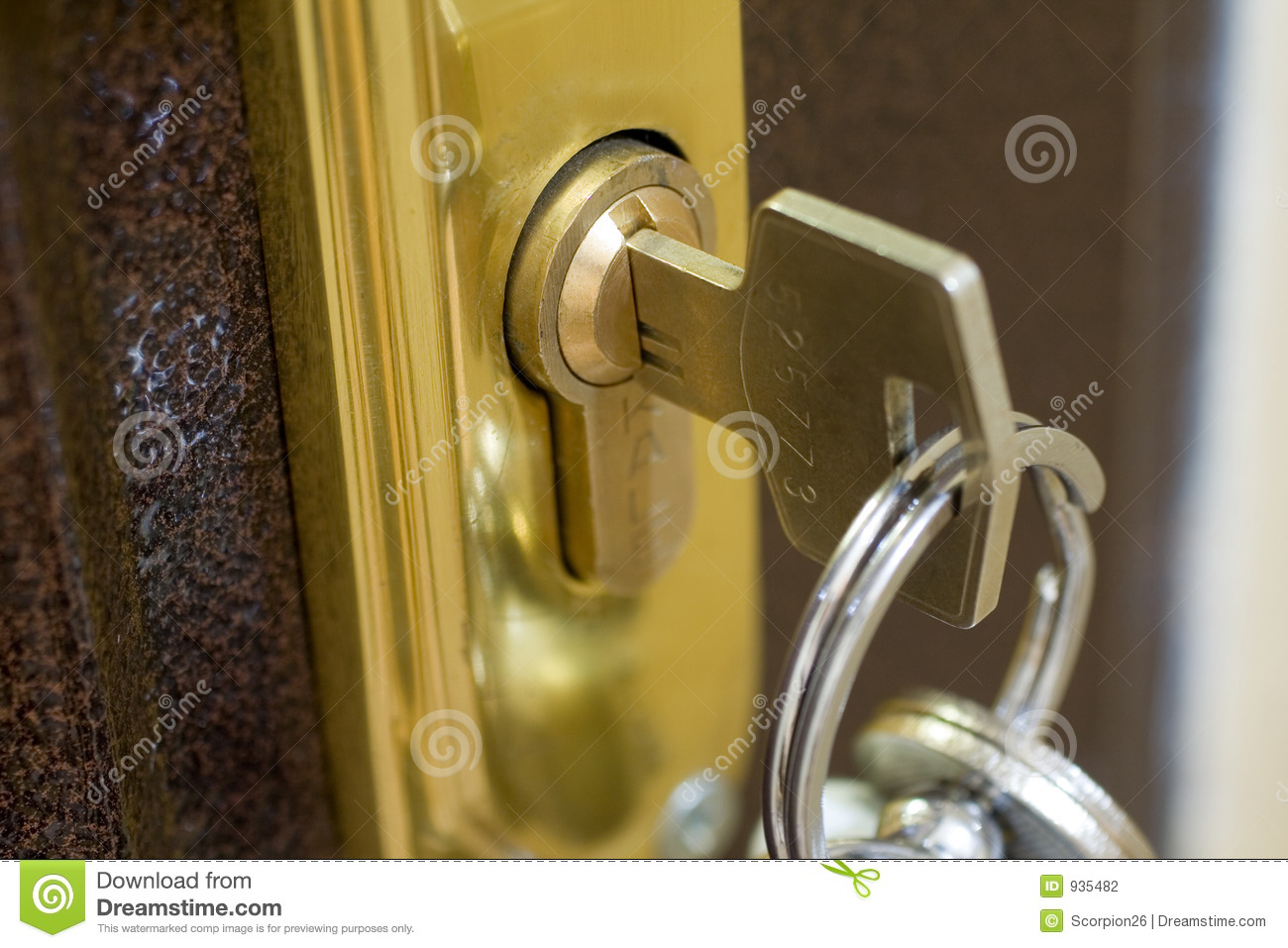 Home Lock And Key Stock Photography Image 935482