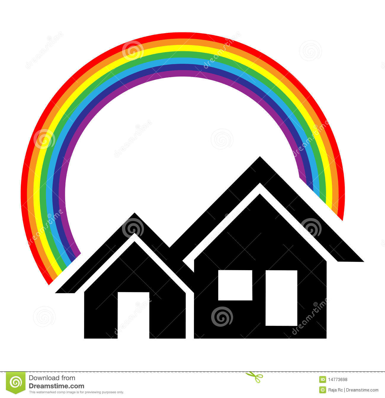 Home Logo Royalty Free Stock Photos - Image: 14773698
