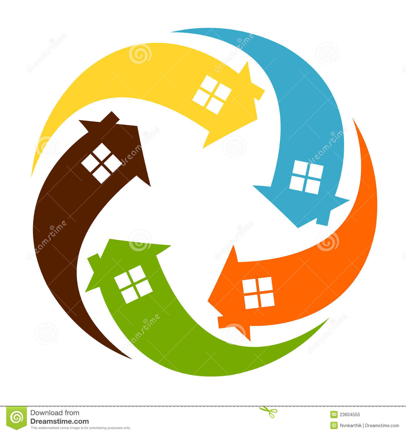 Home Logo Royalty Free Stock Photo - Image: 23604555