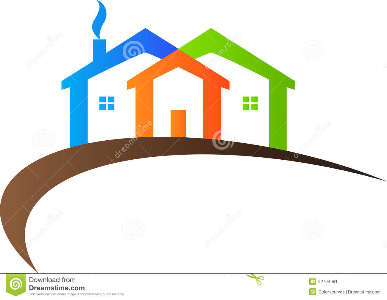 home logo stock vector illustration of apartment developer 32704081 rh dreamstime com vector's house despicable me vector house of representatives
