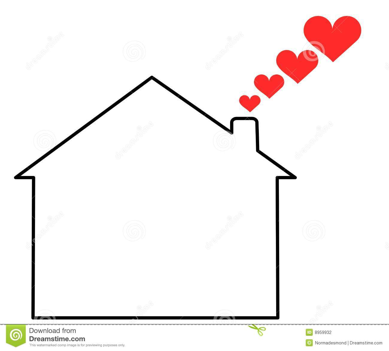 Home love stock photography image 8959932 for Lovers home