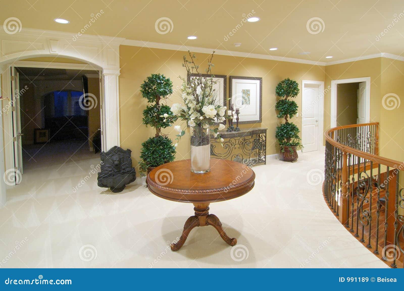 Home lyx uppför trappan