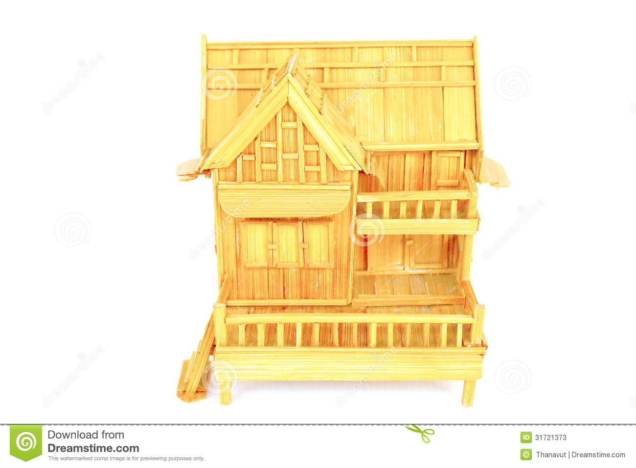 Home models stock photos image 31721373 for Mini wooden house