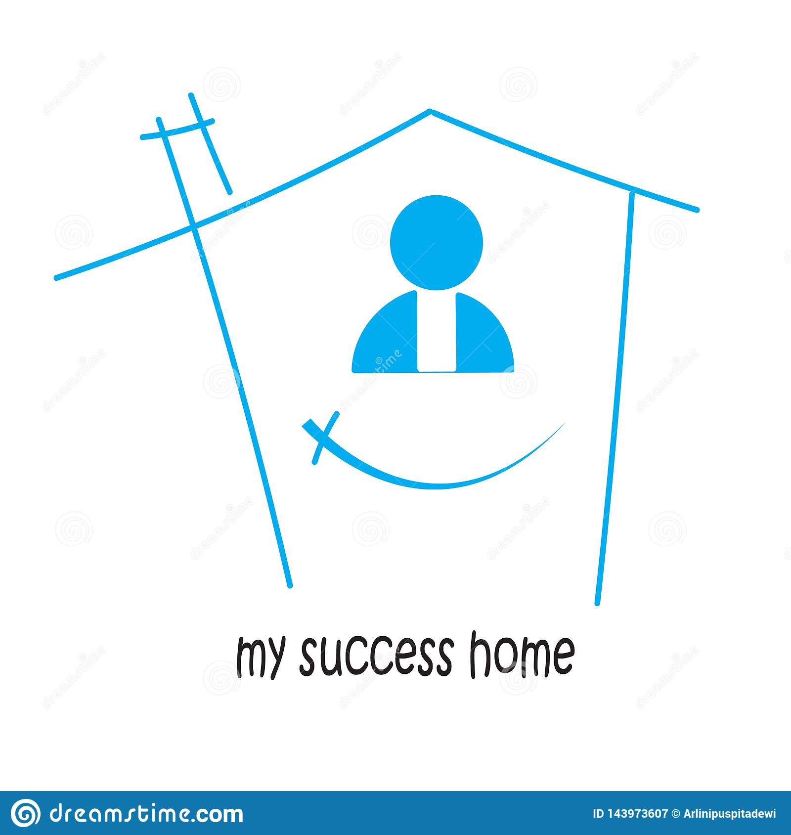 home of my success and victory. in