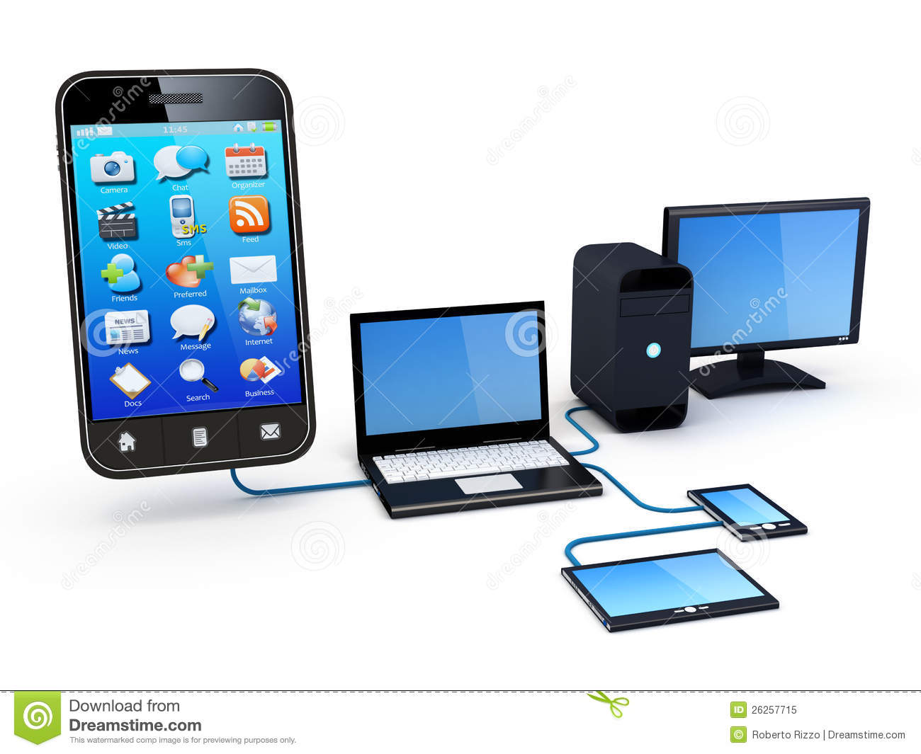 how to see all devices on network