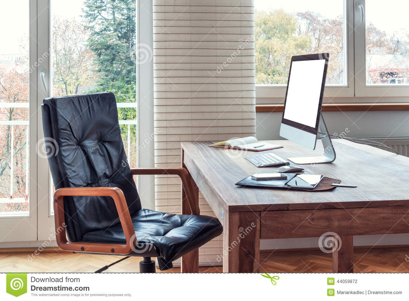 Home office stock photo image 44059872 - Office for mobile devices ...