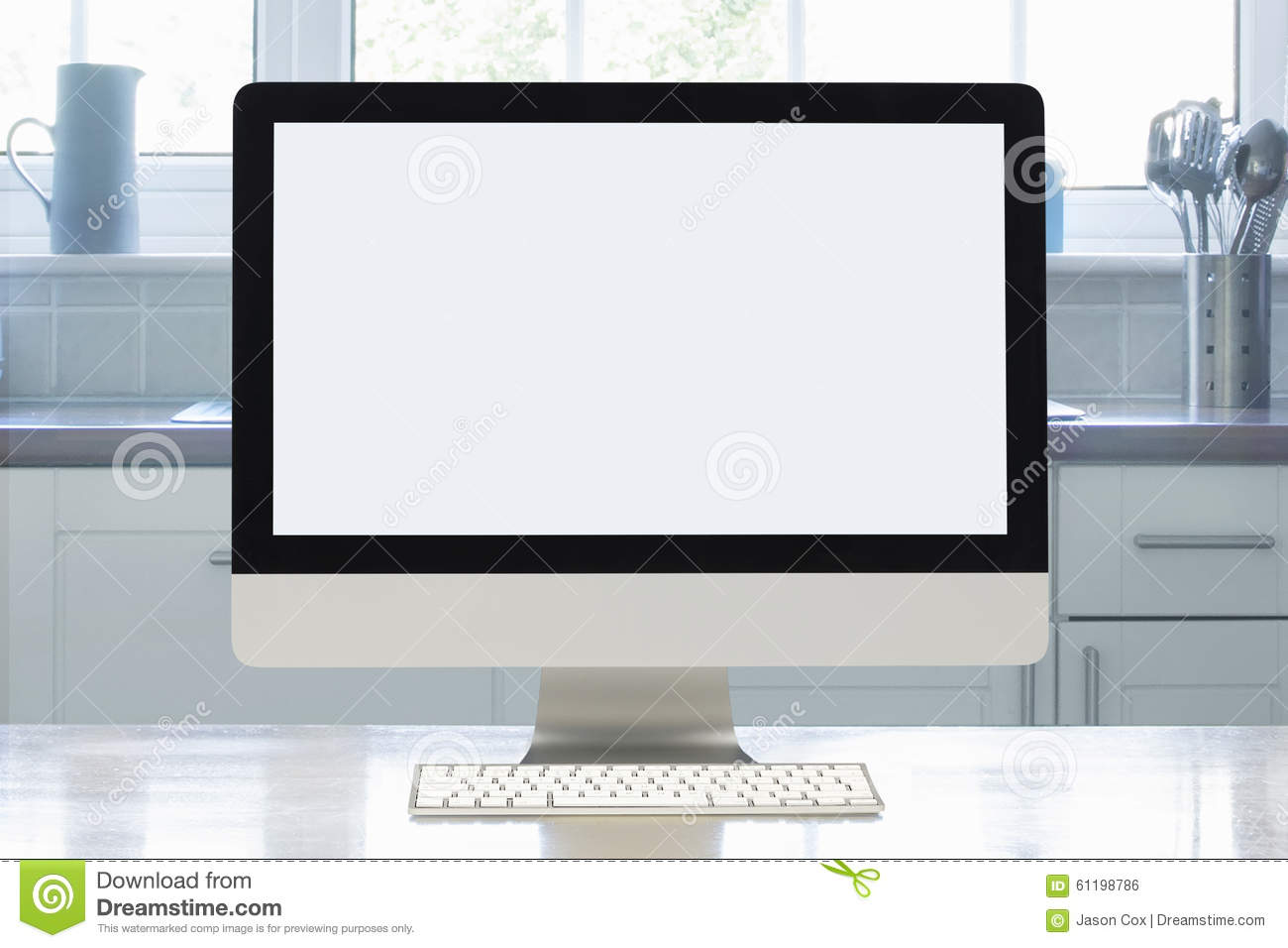 Home Office Interior Set Up Stock Photo - Image of indoors ...