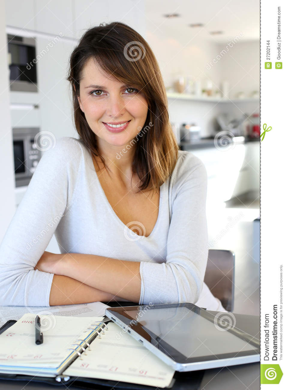 Home Office Worker Woman Stock Images Image 27202144