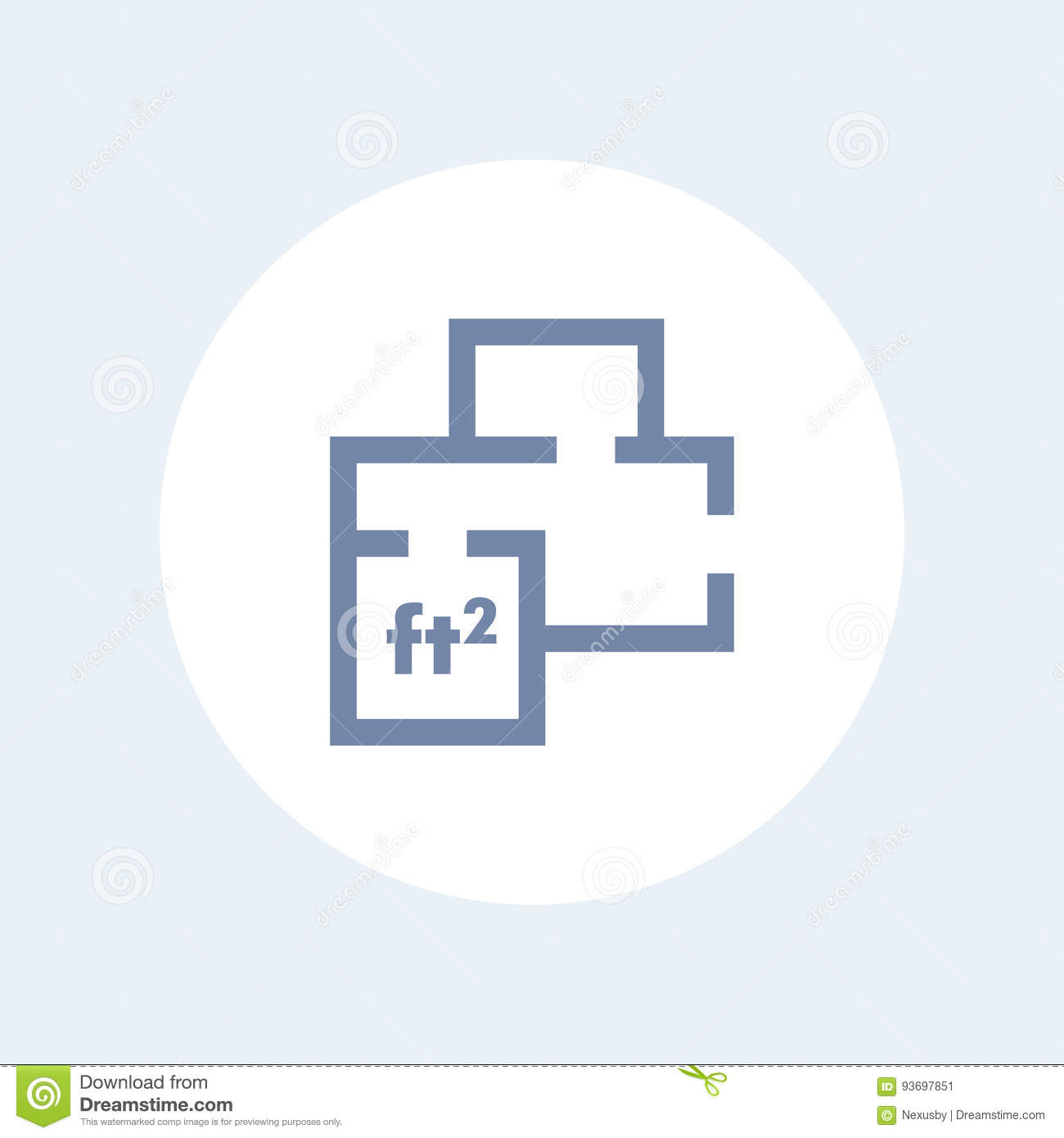 Home Plan Icon Apartment Room Layout Stock Vector Image