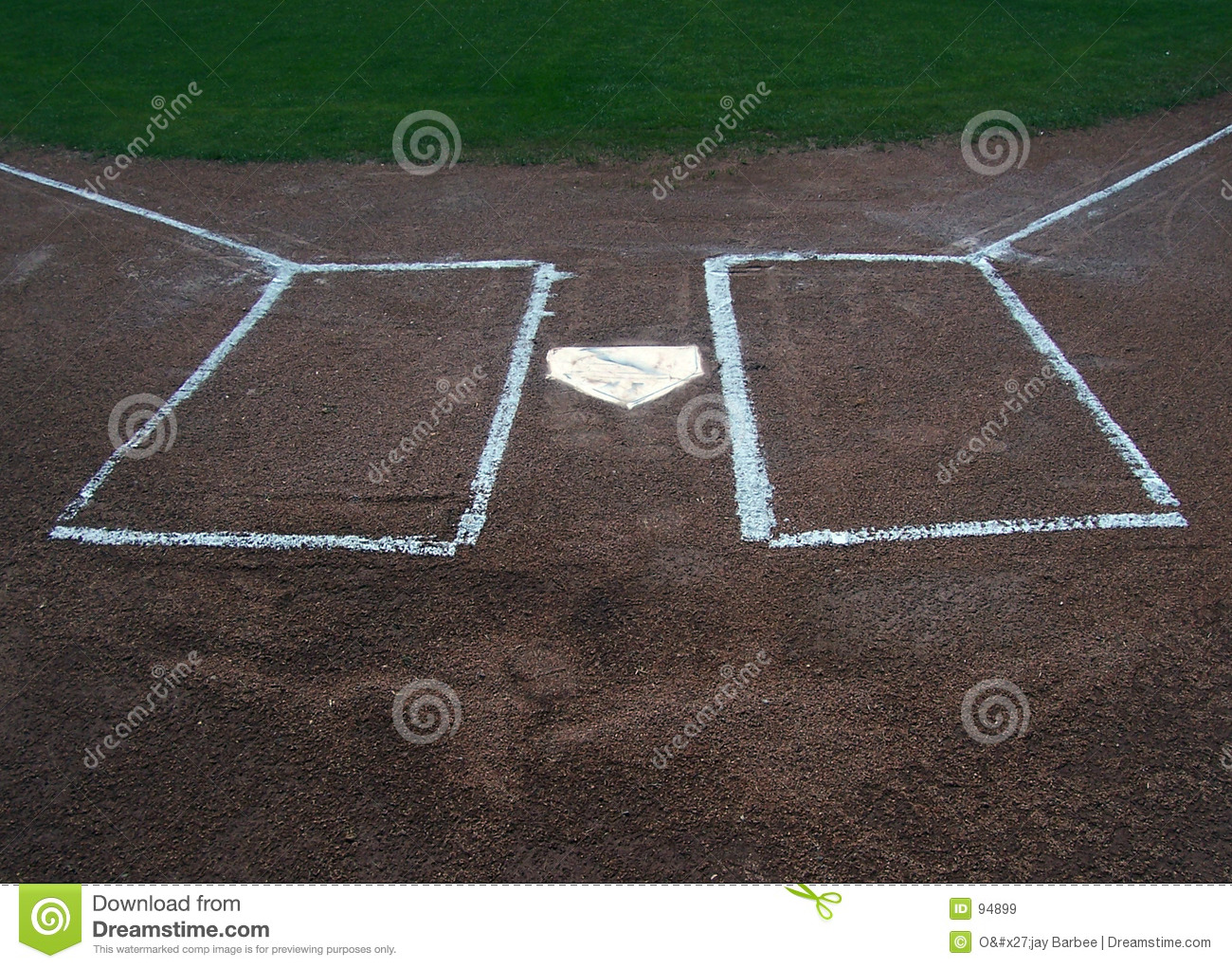 home plate and batters box royalty free stock images image 94899