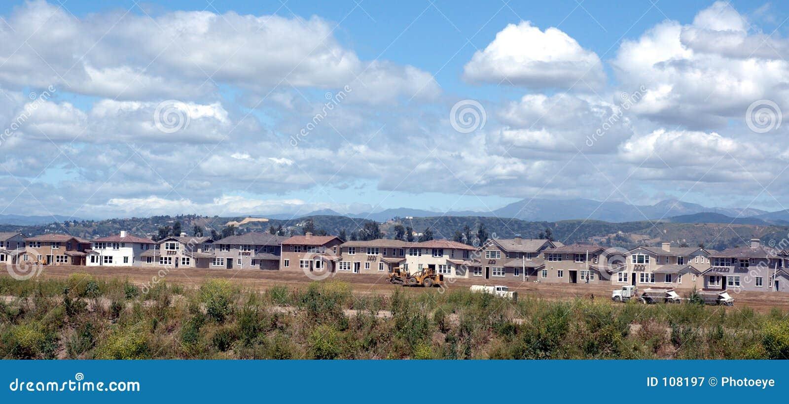HOME que estão sendo construídas