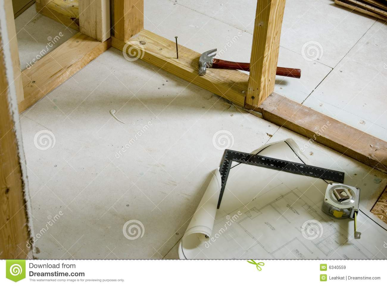 Home remodeling project