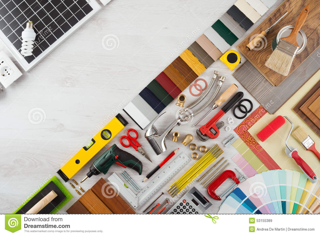 Home renovation and diy stock image image of copy for Do it yourself home renovation