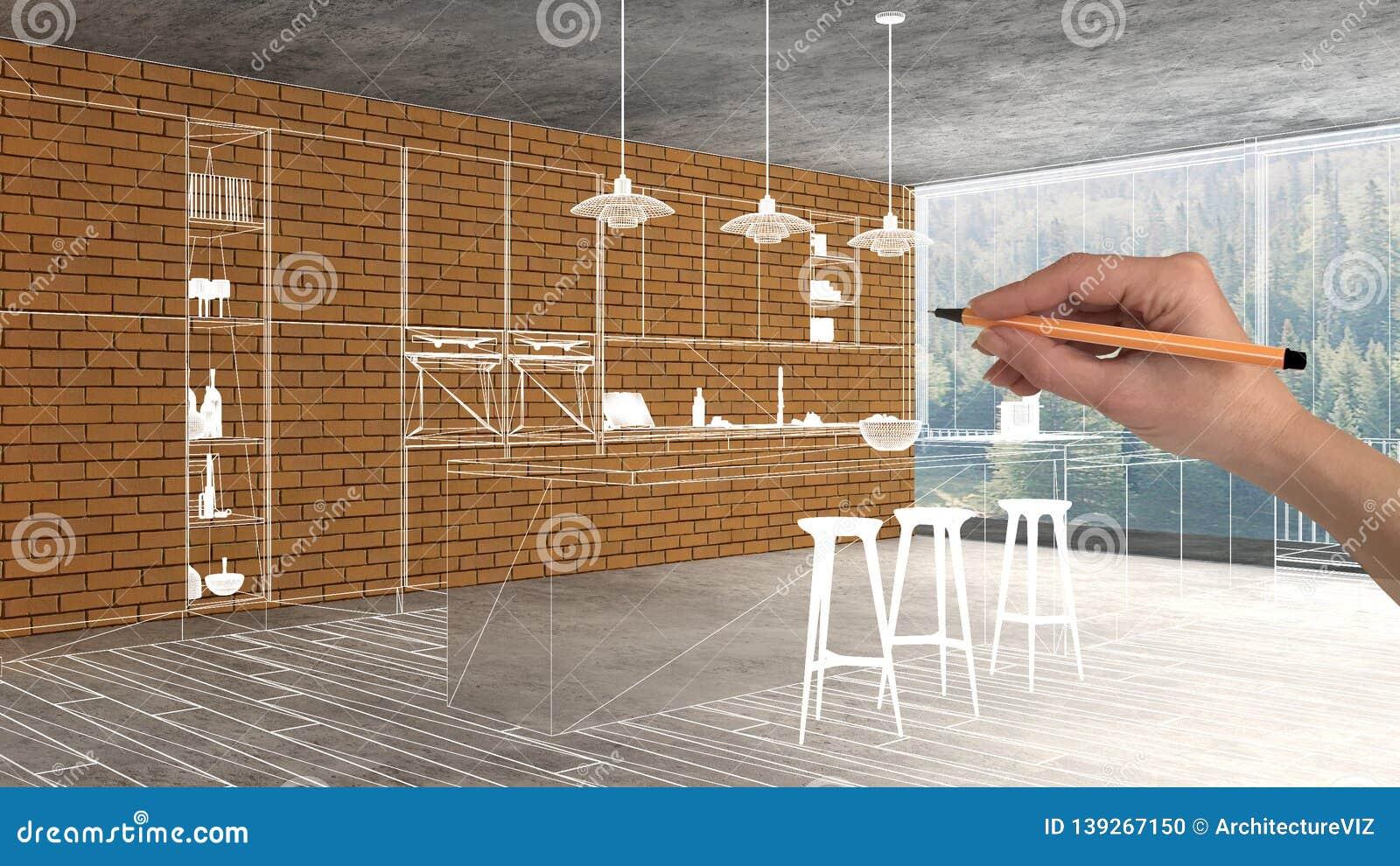 Home Renovation House Development Concept Background