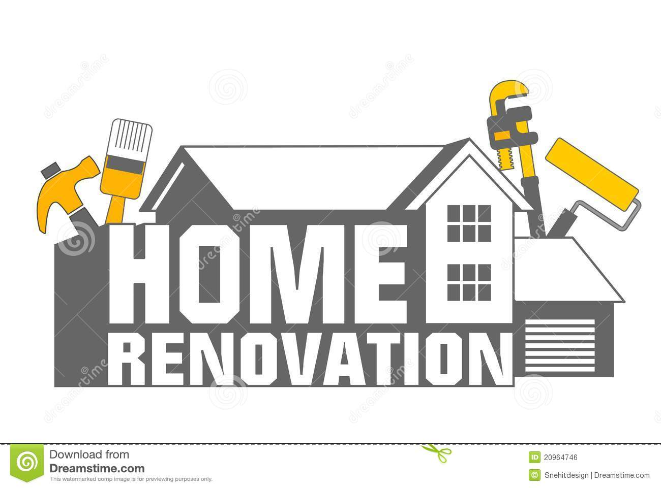 home renovation icon stock illustration illustration of home 20964746