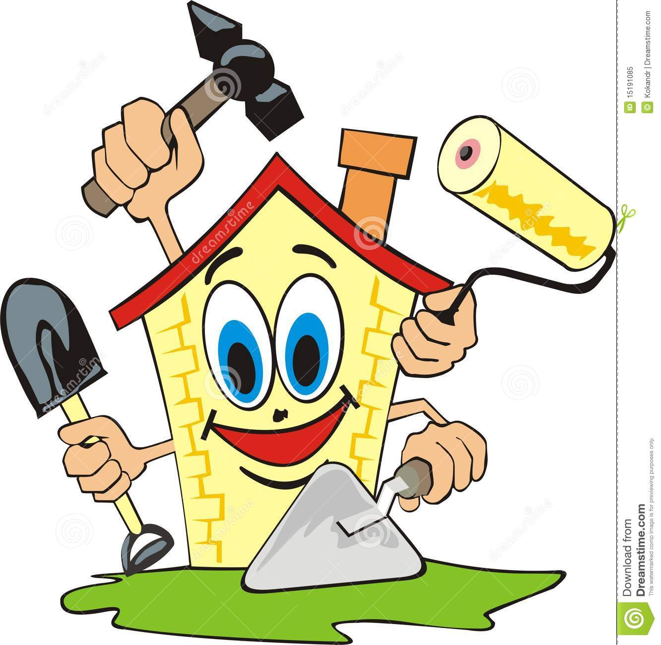 Amazing Cartoon Home Repair Clip Art 1332 x 1300 · 135 kB · jpeg