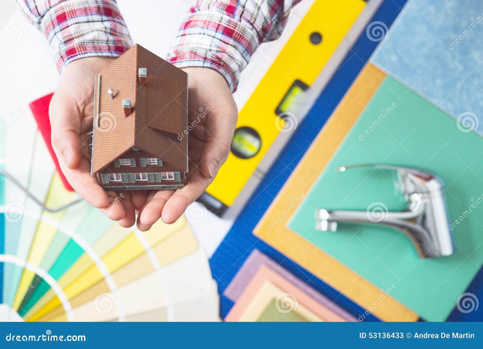 Model home repair