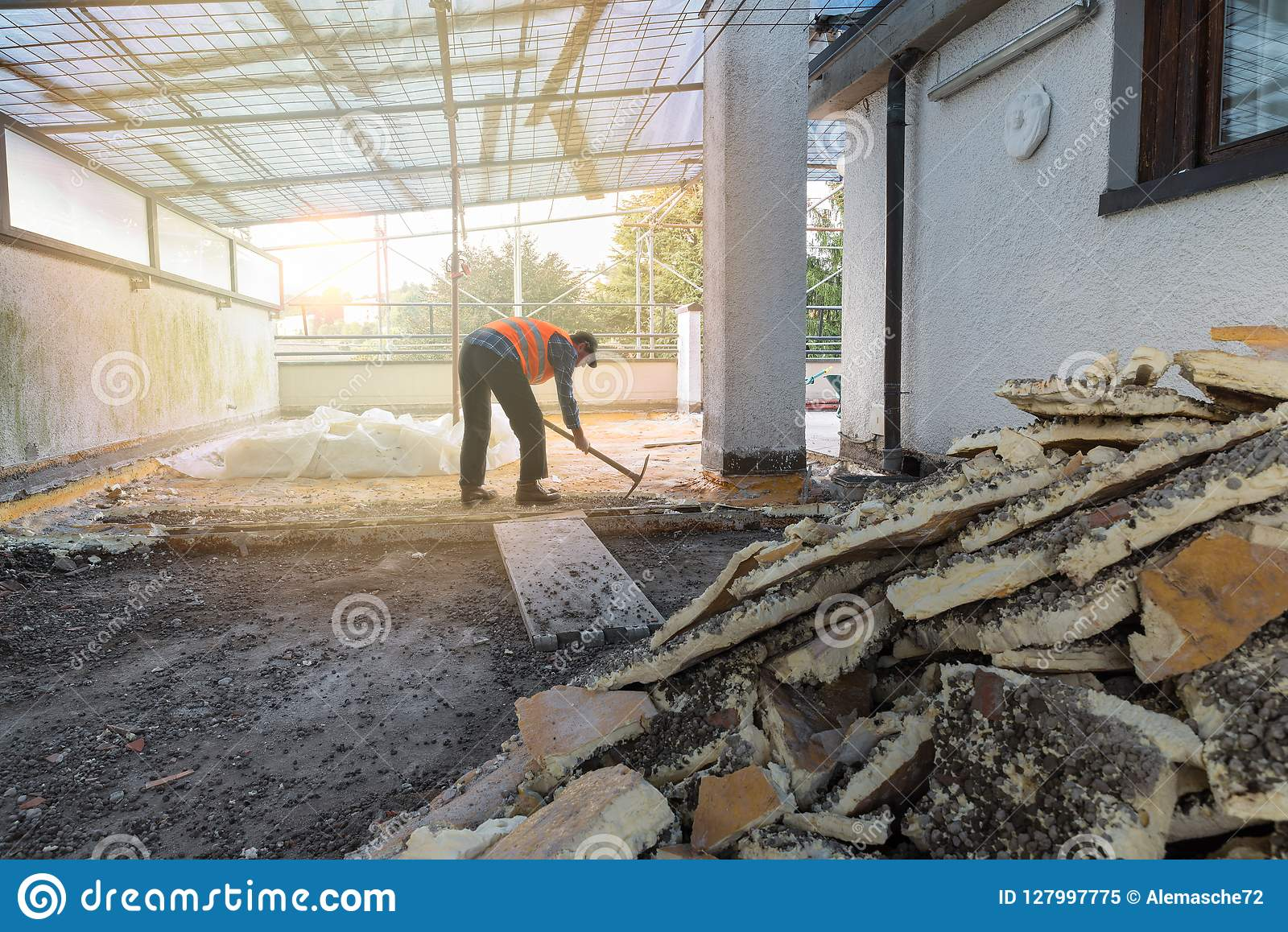 Home Repair  Rebuilding Waterproofing And Insulation Of A