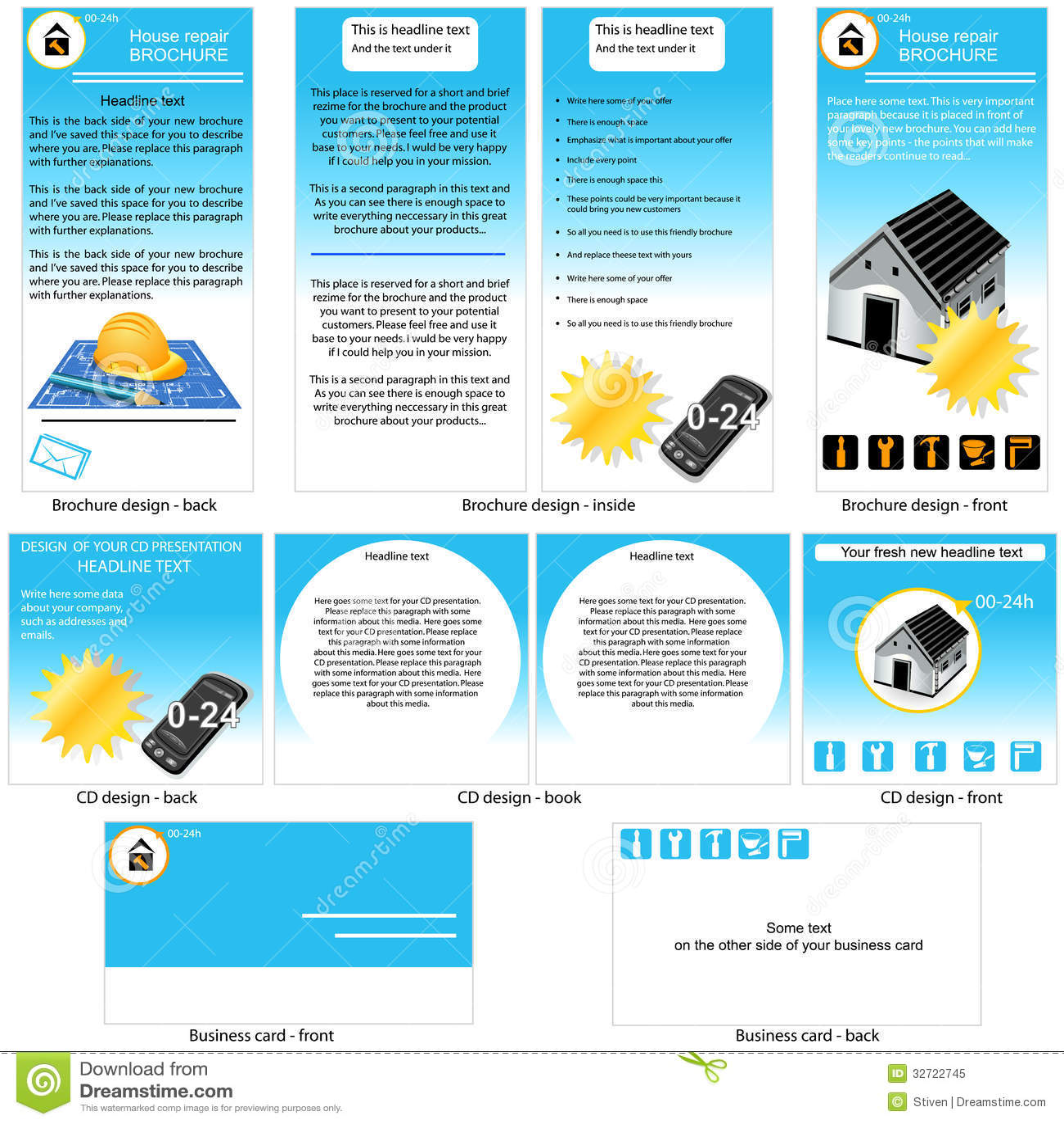 home repair business card templates online stock portfolio programs