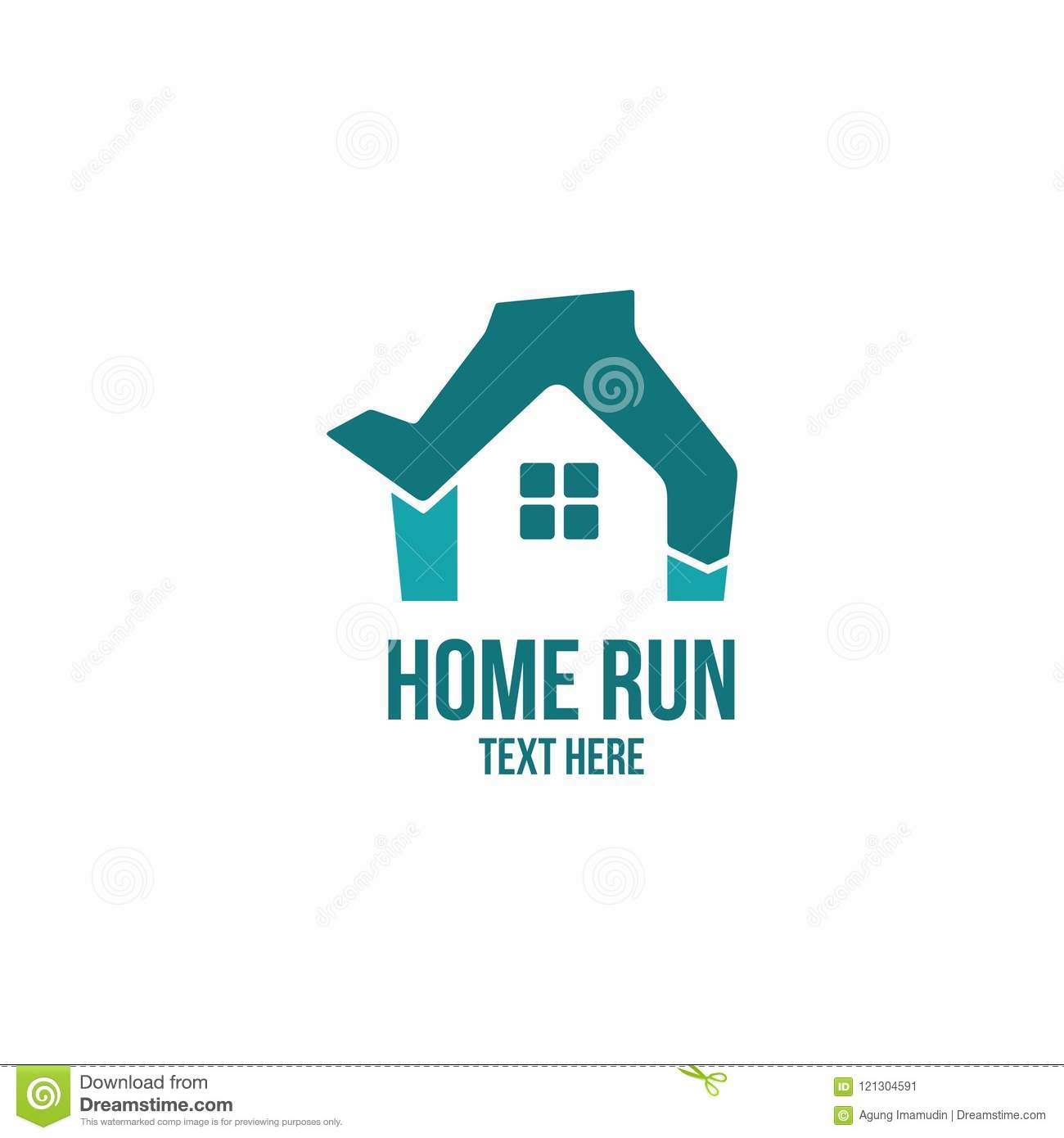 Home Run Speed Logo Company And Business Stock Illustration ...