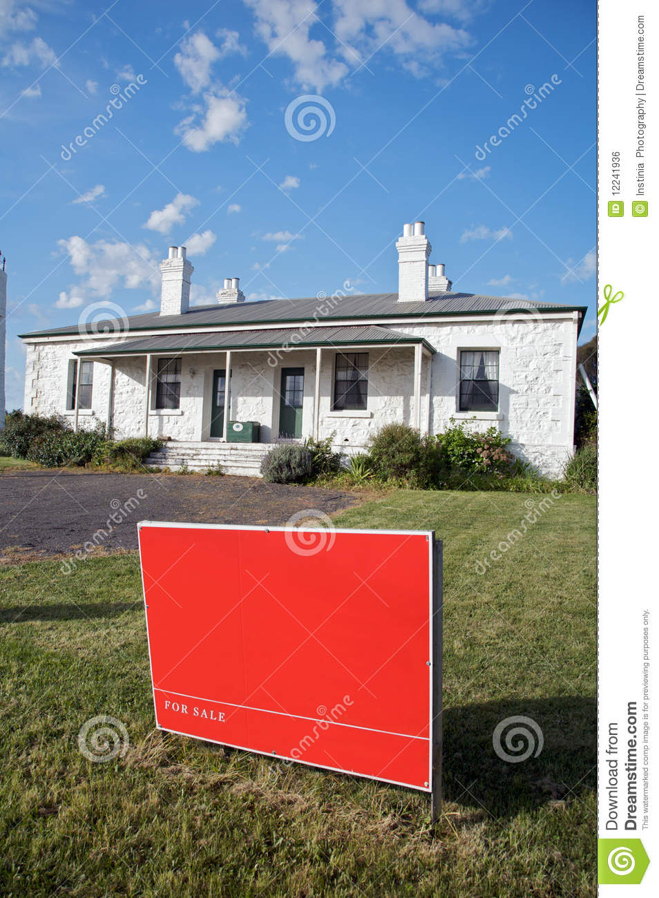 Home for sale sign new home or house royalty free stock for New home sign