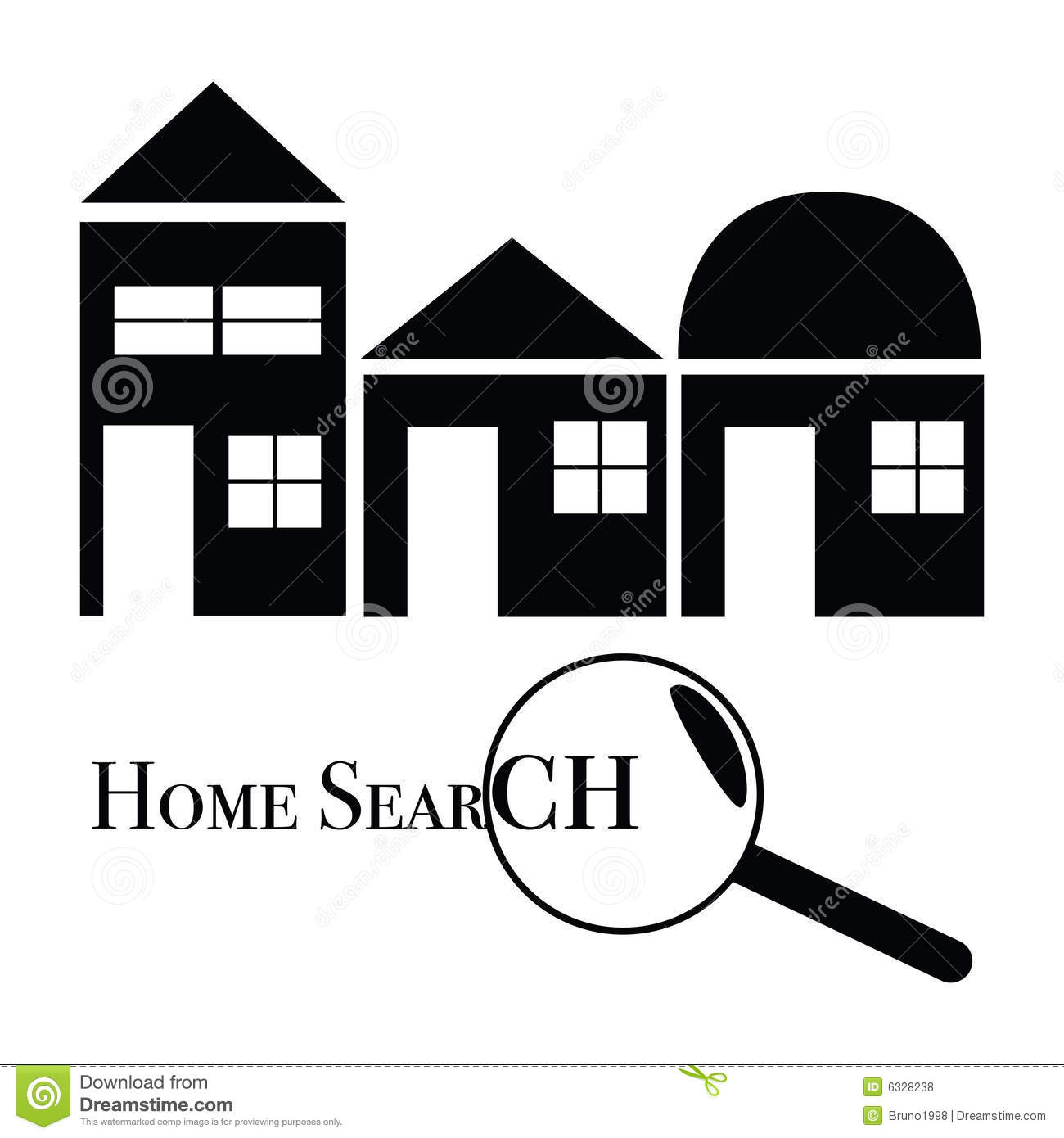 Home search royalty free stock photos image 6328238 for Free home search