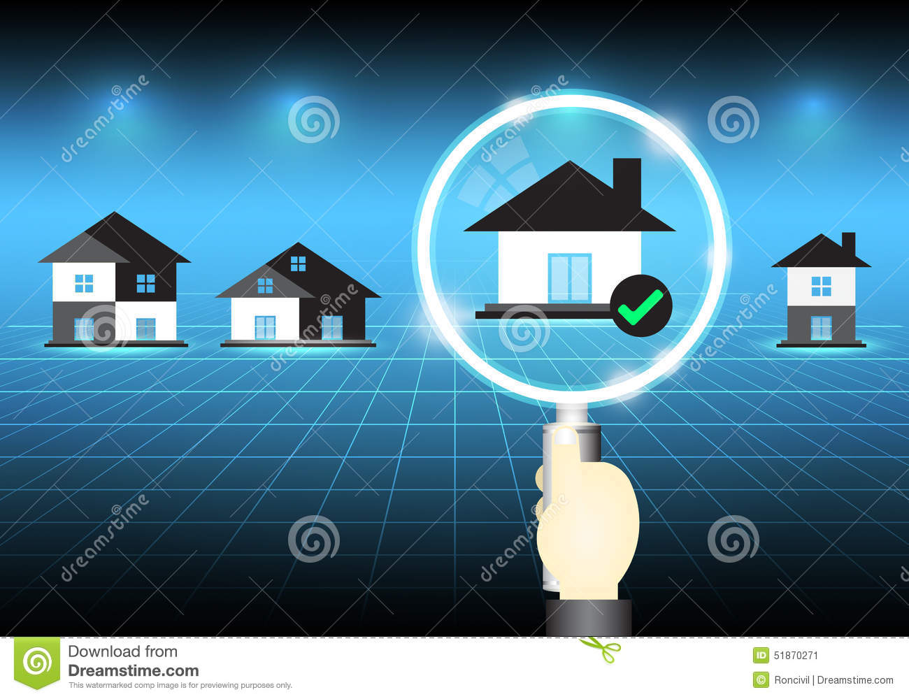 Home Select Stock Vector Image 51870271