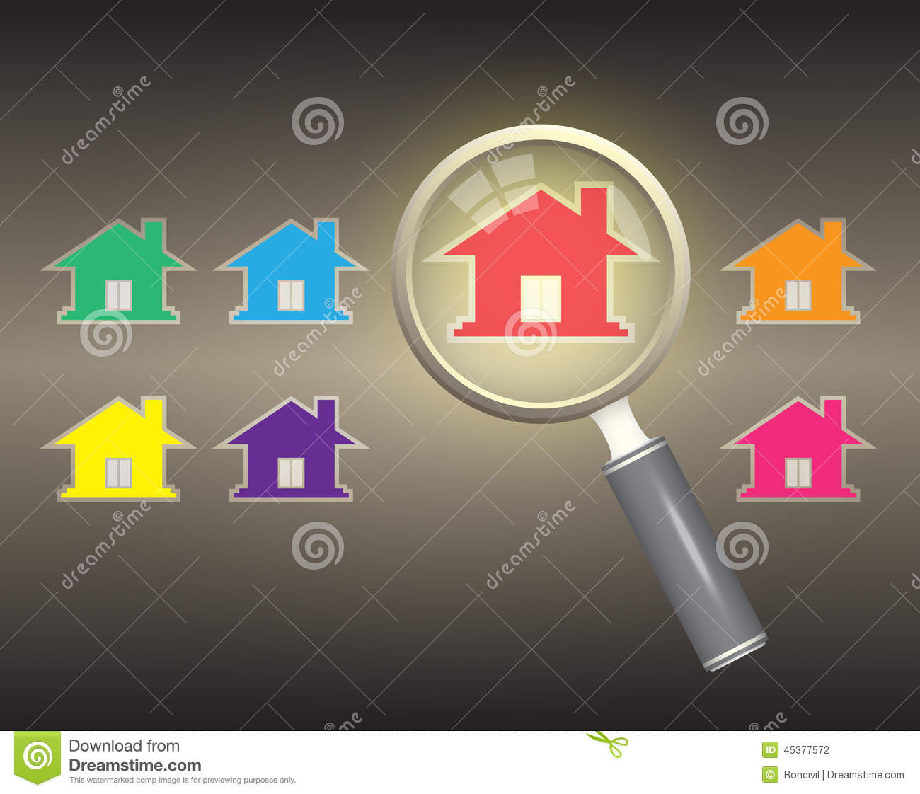 Home Select Stock Vector Image 45377572