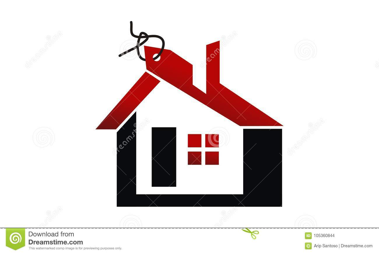 Home Selling Online Stock Vector Illustration Of House - Template for selling home