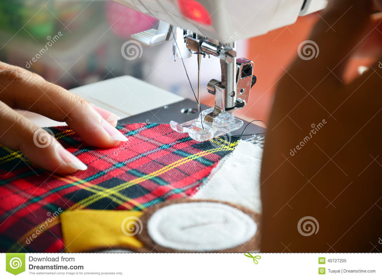 my hobby is sewing