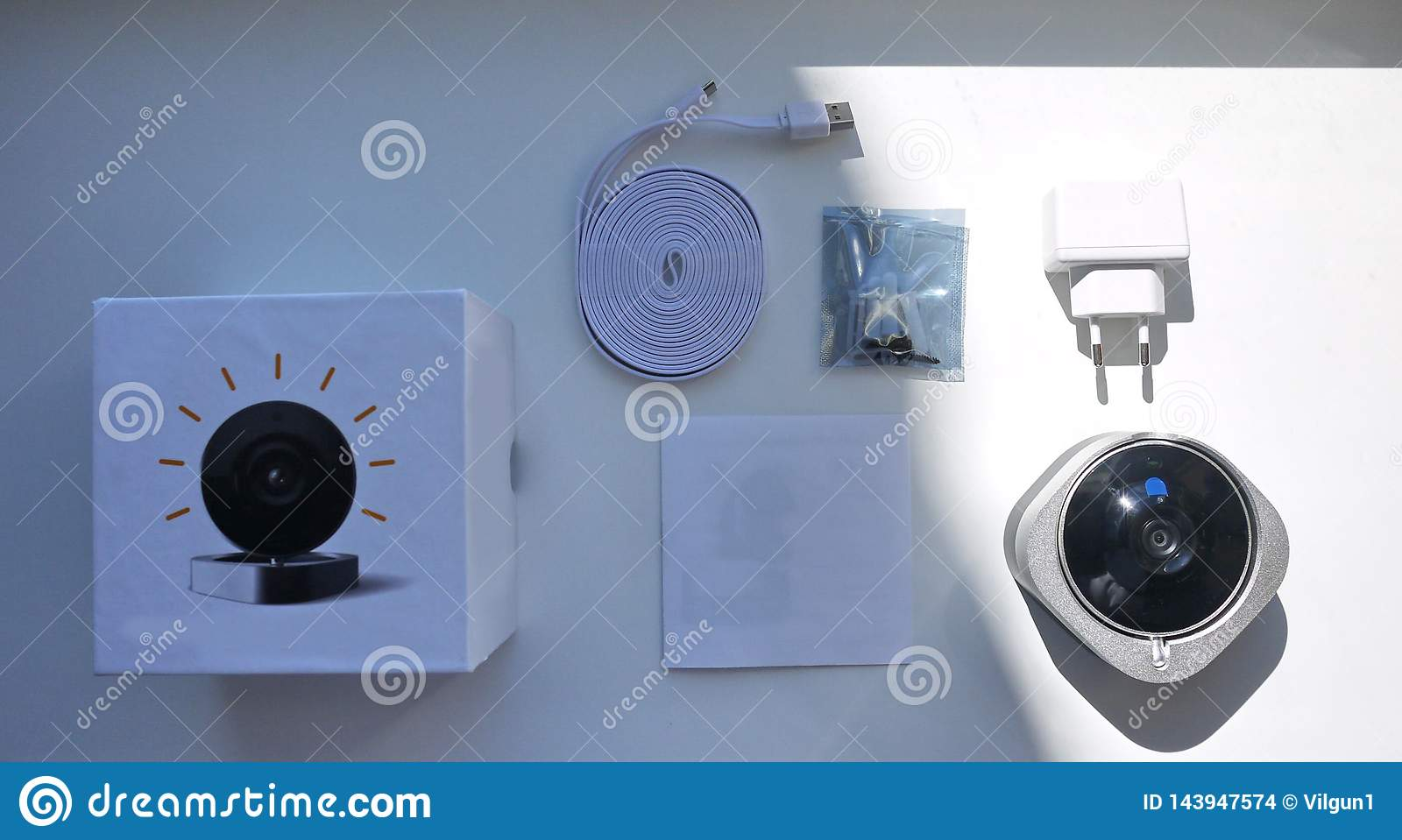 Home surveillance camera , equipment and accessories