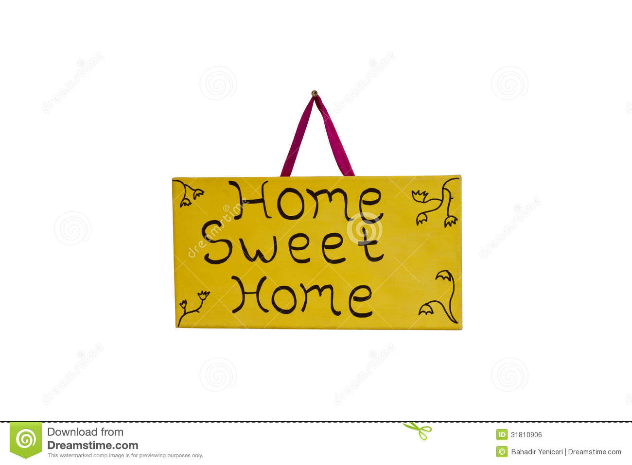 Home Sweet Home Royalty Free Stock Image  Image: 31810906