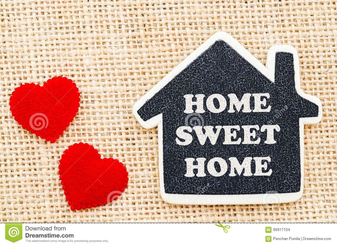 Home Sweet Home Moving In New House Greeting Card Cartoon
