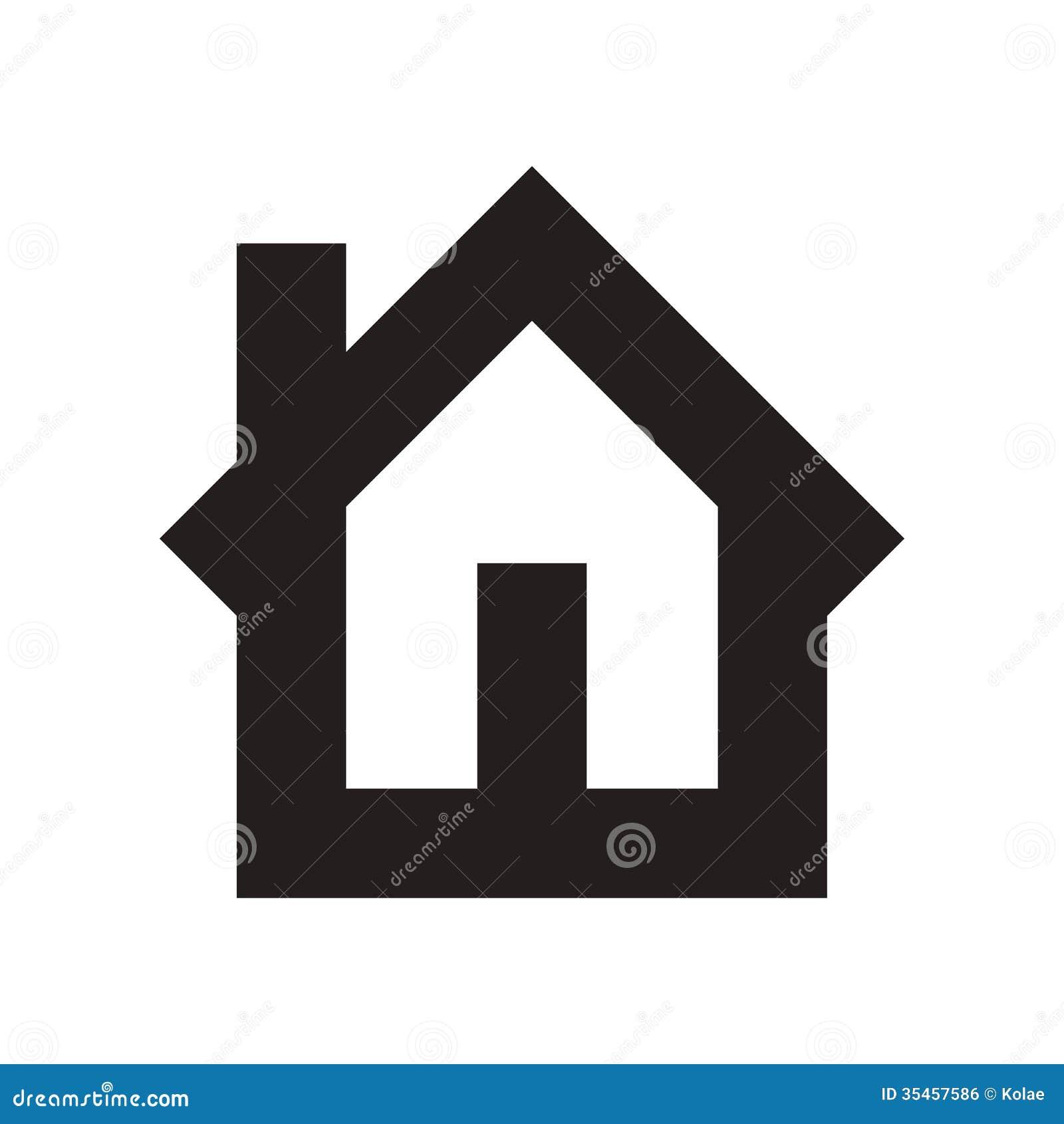 Home Symbol Royalty Free Stock Image Image 35457586