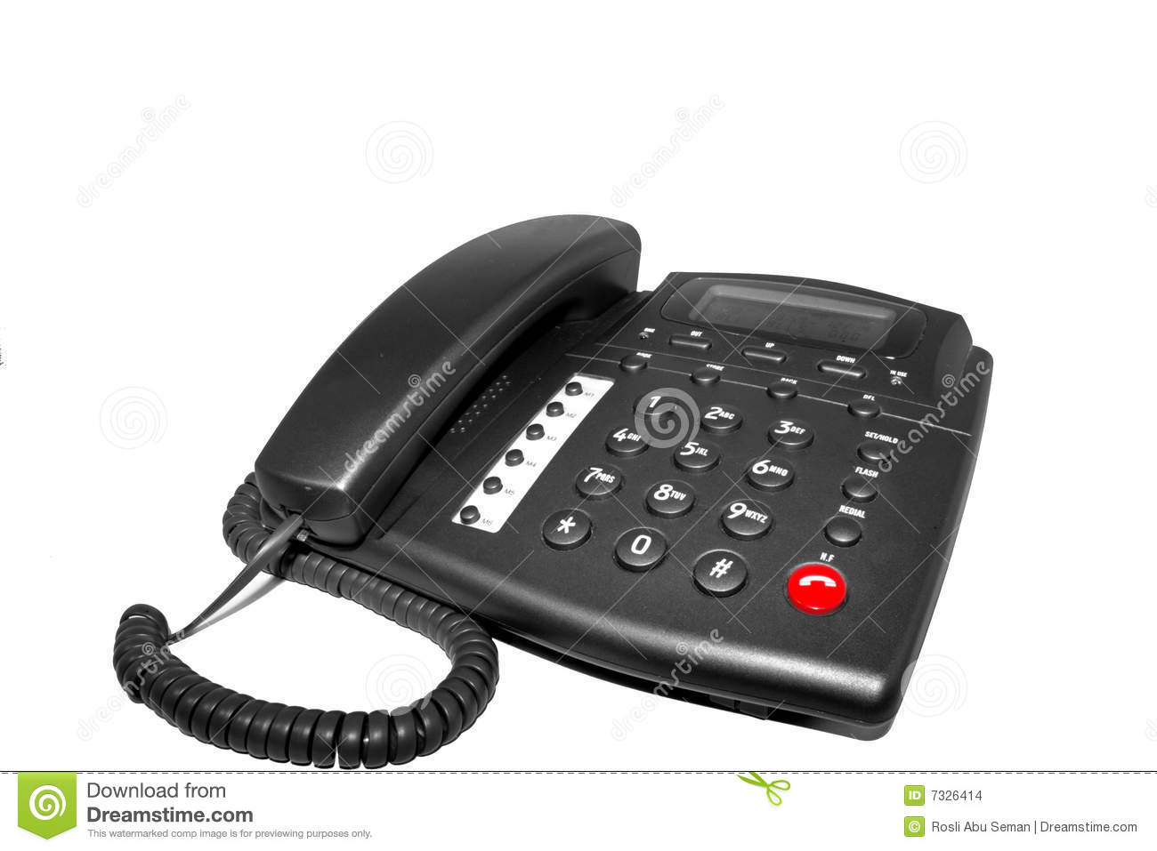 Home telephone stock images image 7326414 for Home telecom