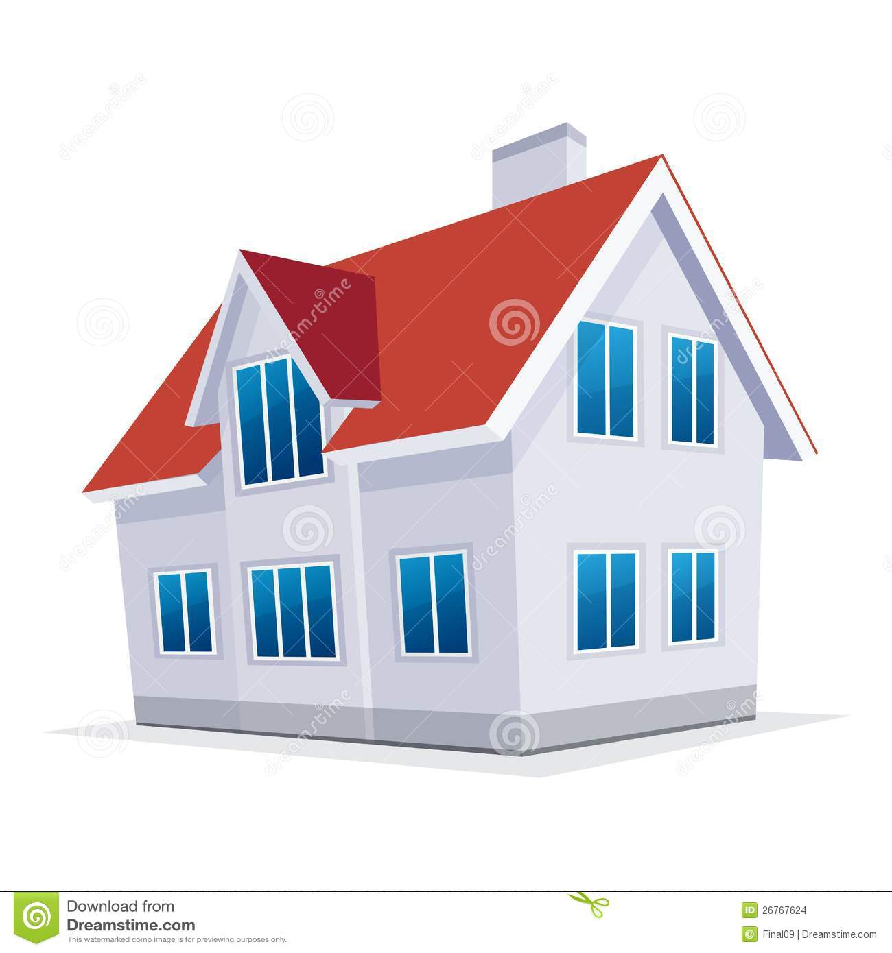 Awesome Royalty Free Stock Photo. Download Home. Vector Illustration.