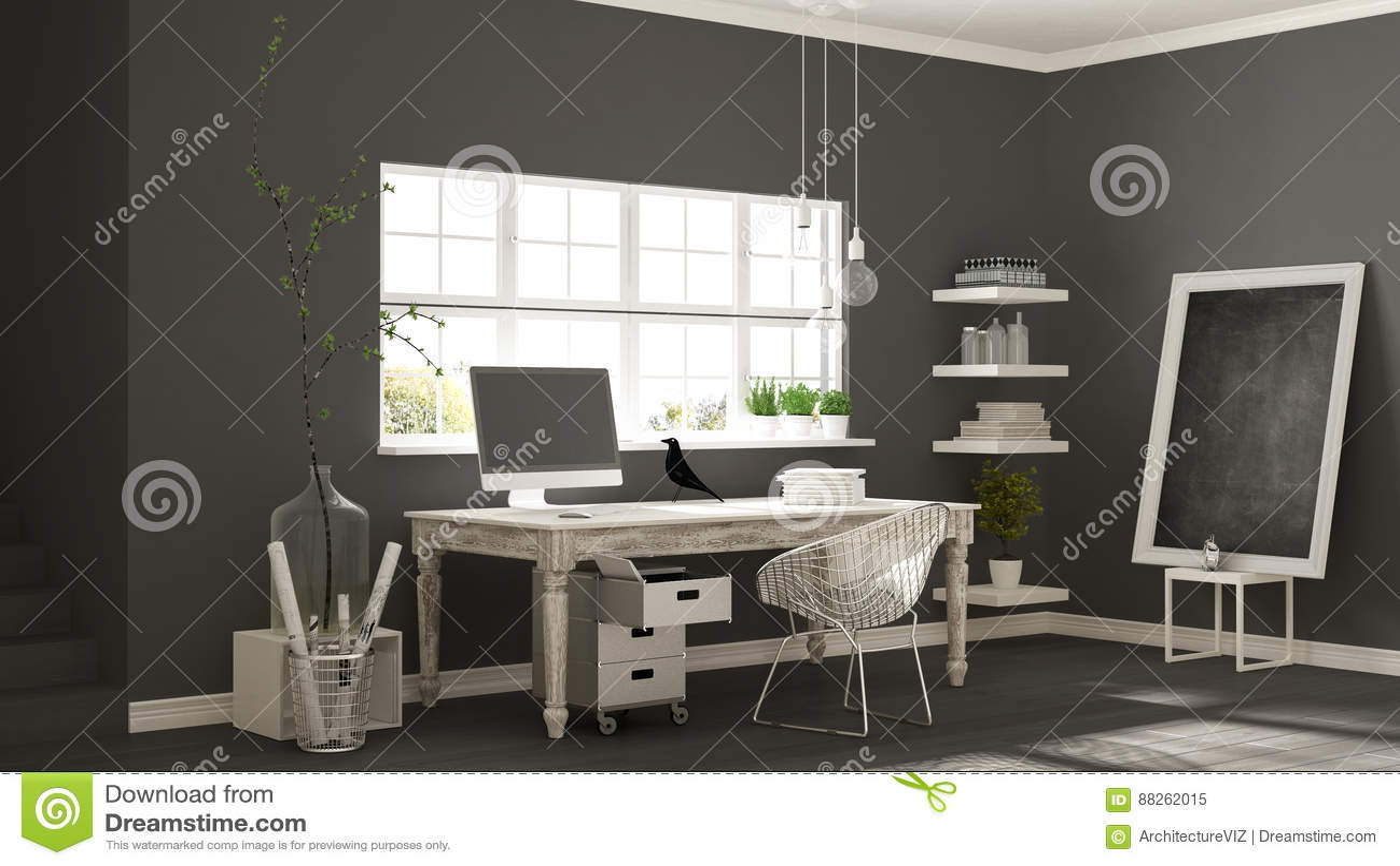 download design home office corner. Home Workplace, Scandinavian House Room Corner Office, Classic M Stock Image - Of Corner, Apartment: 88262015 Download Design Office