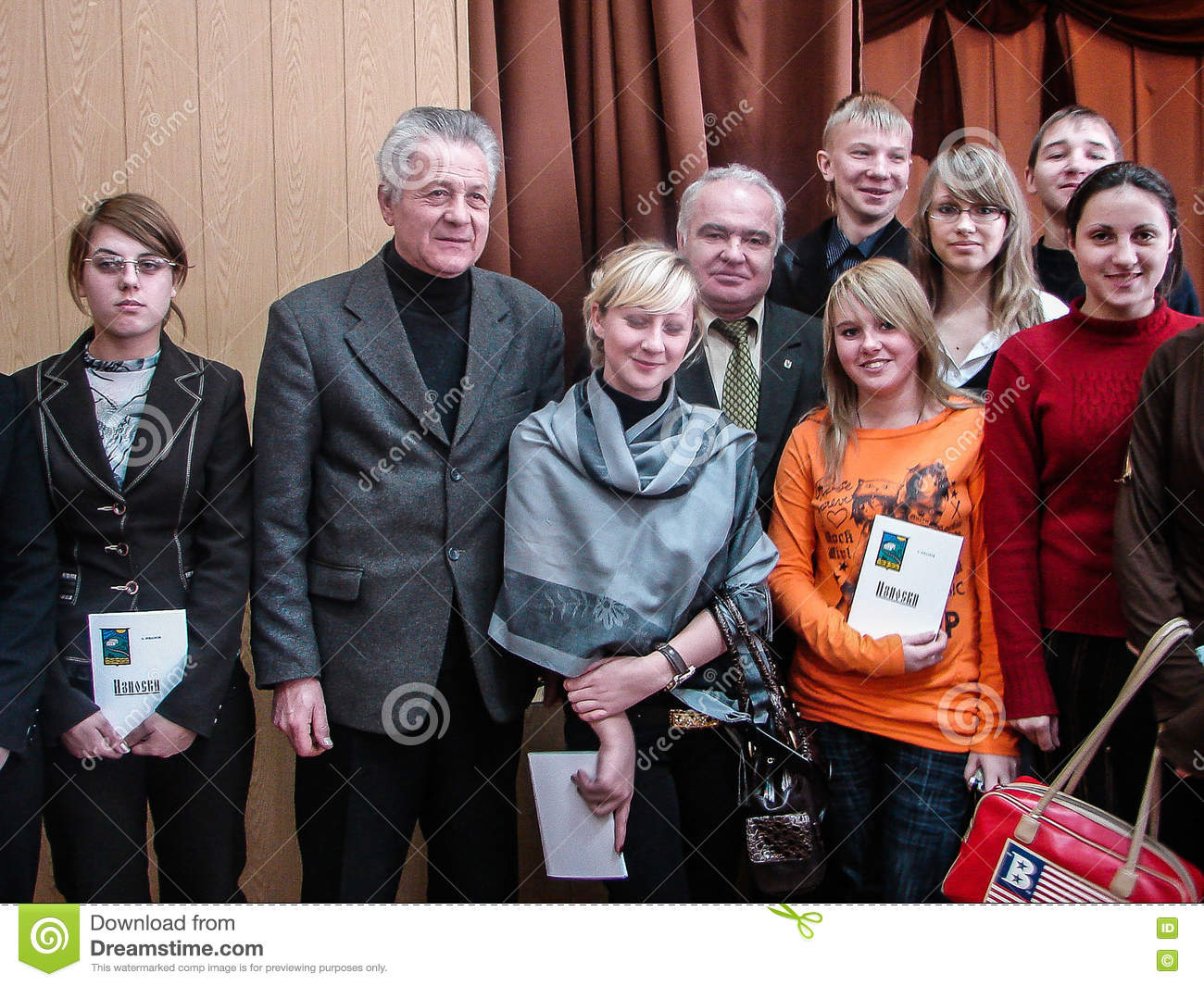 A Homecoming At A Rural School In Kaluga Region In Russia Editorial Photo Image Of Concert Rural 76638966