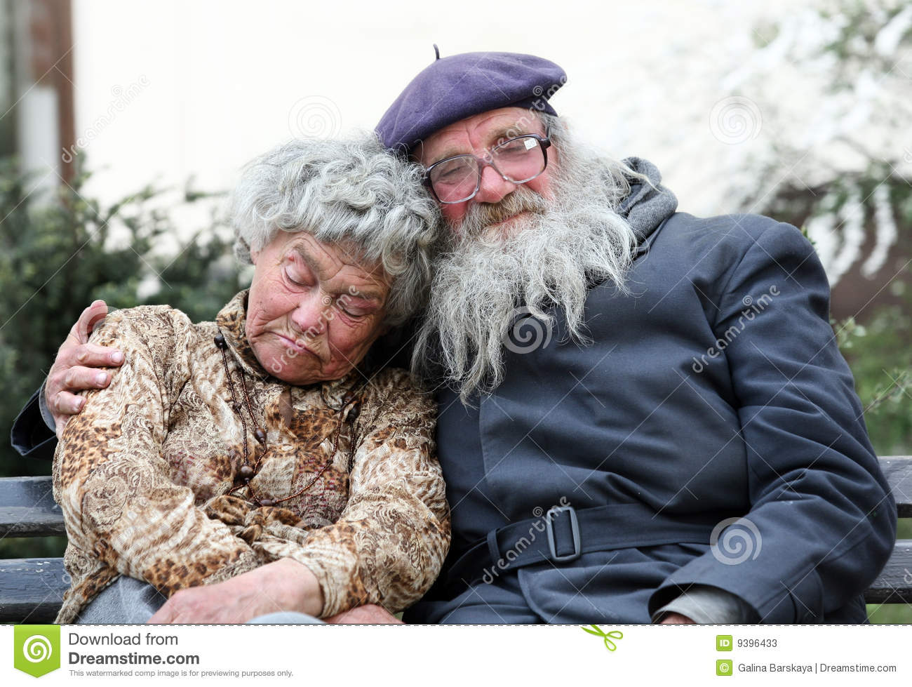 homeless couple stock photos image 9396433