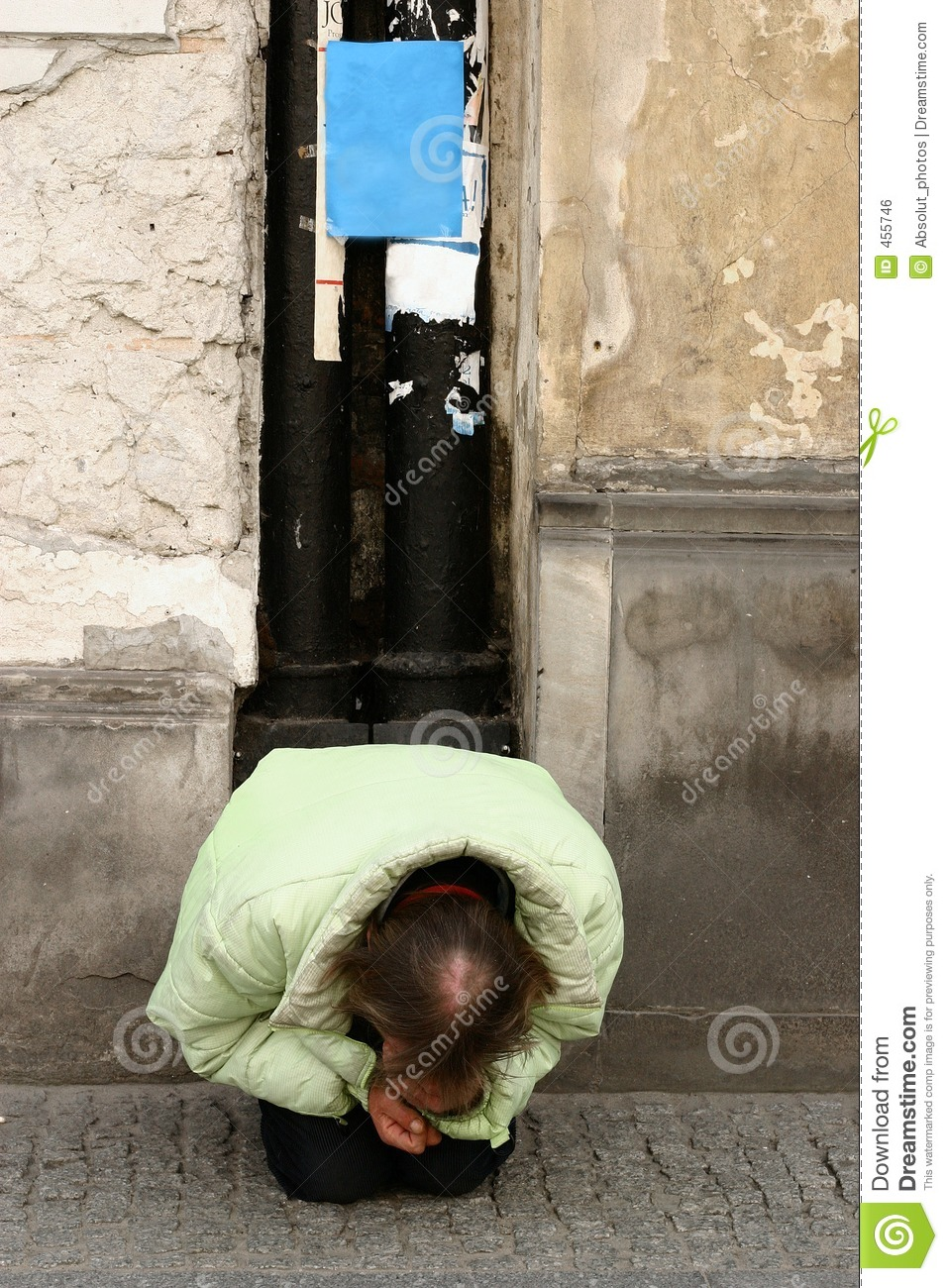 Download Homeless IV stock photo. Image of person, hunger, misery - 455746