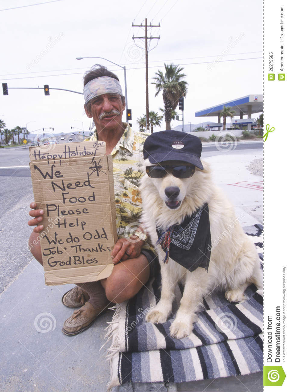 A Man And His Dog >> A Homeless Man And His Dog Editorial Image Image Of Sign 26273585