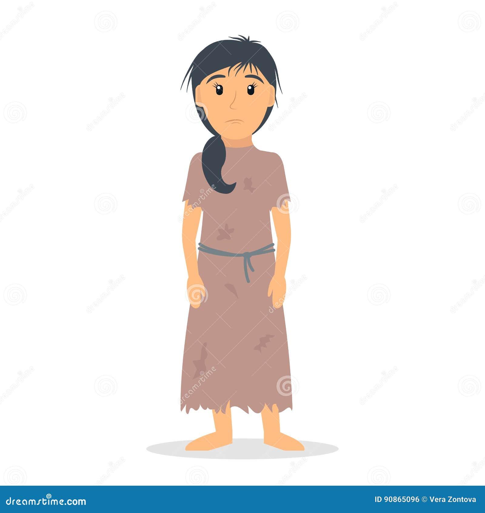 Female Beggar Stock Illustrations – 10 Female Beggar Stock ...